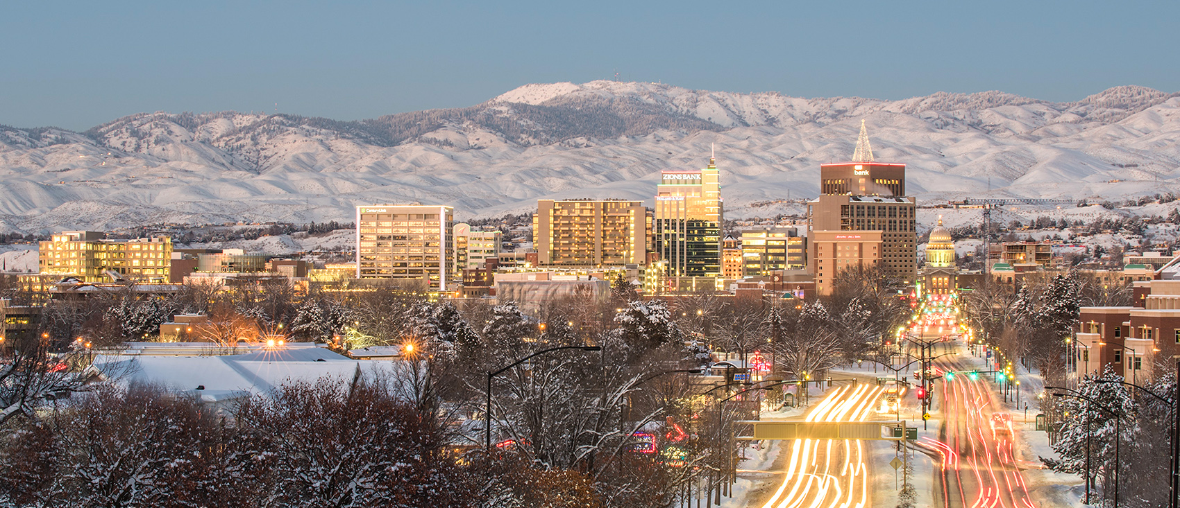 Boise, Idaho Skyline Photo