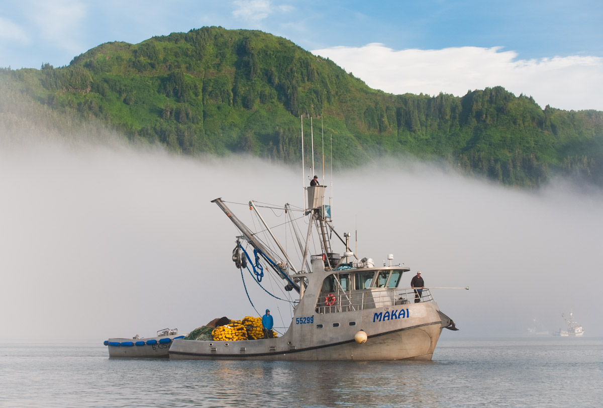 Alaska commercial fishing photography